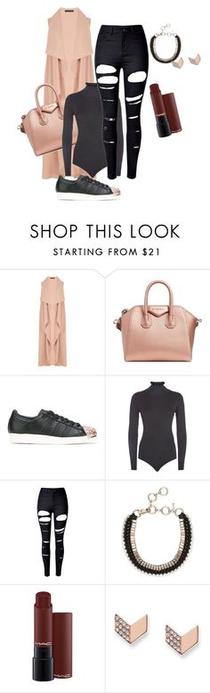 """Untitled #2627"" by xtrak ❤ liked on Polyvore featuring Givenchy, adidas, Claudie Pierlot, WithChic and FOSSIL"