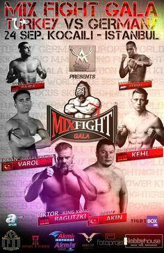 Mix Fight Gala -24 settembre Turchia