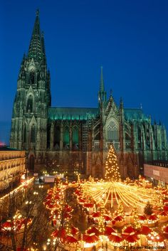 Cologne's Christmas Market. #joingermantradition Enter the #InspiredBy Pinterest Contest for your chance to win a trip to Germany!