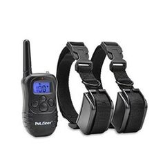 Petrainer PET998DB2 330 Yards Rechargeable and Waterproof Dog Training Collar for 2 dogs with Safe Beep,Vibration and Shock Electric Dog Shock Collar - Walmart.com - Walmart.com Training Collar, Dog Training, Dog Shock Collar, Tie Out, Keep An Eye On, Large Dogs, Dog Owners, Yards, Walmart
