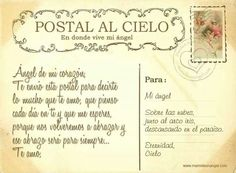 Postal Al Cielo