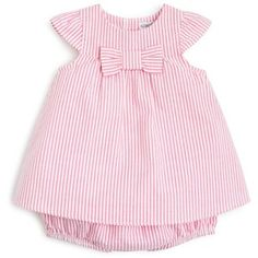 Designer Clothes, Shoes & Bags for Women Girls Dresses Sewing, Little Girl Dresses, Toddler Outfits, Kids Outfits, Baby Girl Dress Patterns, Seersucker Dress, Cute Kids Fashion, Look Chic, Infant Girls