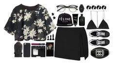 """Untitled #197"" by the-dreamcatcher ❤ liked on Polyvore featuring Dion Lee, Topshop, H&M, Calvin Klein, Nearly Natural, NARS Cosmetics, New Balance, Brian Lichtenberg, Nixon and ASOS"