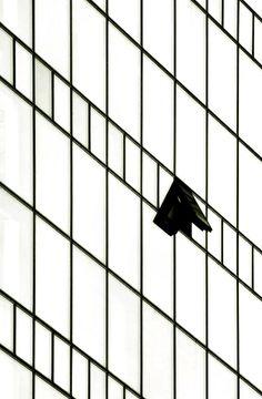 geometric grid meets fresh-air fiend