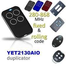 UK/_ 280-868MHz Universal Remote Control Electric Gate Garage Door Key Fob Exquis