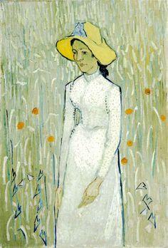 Vincent Van Gogh - Girl in White