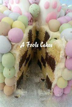 Checkerboard cake!!! #afoolscakes