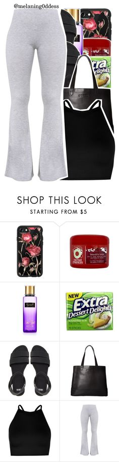 """""""Crush x Yuna ft. Usher"""" by melaning0ddess ❤ liked on Polyvore featuring Casetify, Herbal Essences, Victoria's Secret, ASOS, SOREL and Boohoo"""