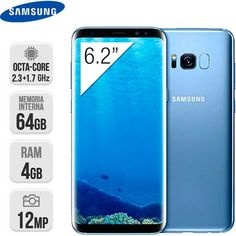 Smartphone Samsung Galaxy S8 Plus 64GB Azul https://www.intertienda.es/tienda/moviles/smartphone-samsung-galaxy-s8-plus-64gb-azul/