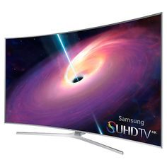 Samsung Television, SUHD Curved Smart TV - Full HD - Best of Wallpapers for Andriod and ios Tv Samsung, Samsung Smart Tv, Samsung Mobile, Samsung Galaxy, Curved Led Tv, 4k Television, 8k Tv, Tv Shopping, All Mobile Phones