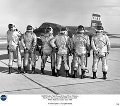 X-15 test pilots 1966