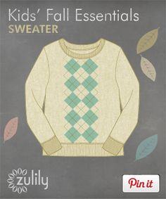 Fall Essentials Pinable Campaign | Daily deals for moms, babies and kids