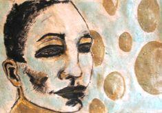 BUY ORIGINAL ART - Series FACES Twelve Monkeys, Art Series, Pretty Baby, Illusions, Original Art, Artist, Faces, Stuff To Buy, Painting