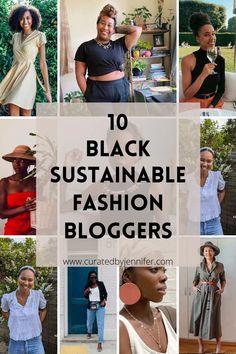 Black Sustainable Fashion Bloggers