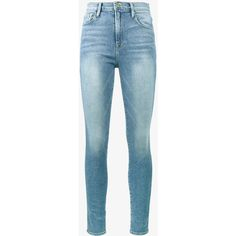 Frame Denim high-rise skinny jeans (19.645 RUB) via Polyvore featuring jeans и frame jeans