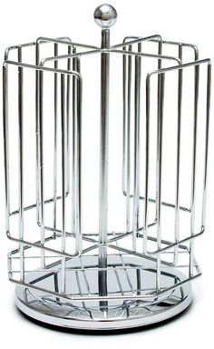 Lipper International Coffee T-Disc Organizer, Chrome >>> See this awesome image  : Utensil Organizers