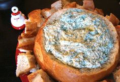 {Best Christmas Appetizer Recipes} The Best Spinach Dip Ever! {no mayo} (What Matters Most Now) Appetizer Recipes, Snack Recipes, Cooking Recipes, Best Spinach Dip, Best Christmas Appetizers, Christmas Recipes, Gluten Free Puff Pastry, Party Dishes, Sauces
