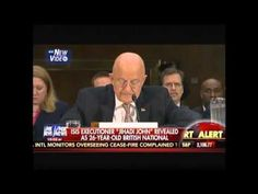 Published on Feb 2015 James Clapper completely contradicts John Kerry's testimony less than 24 hours ago. Do these people have any idea what they're doing? Clapper: 2014 Saw Most Terrorist Attacks in 45 Years Police Love, British National, The Enemy Within, Smoke And Mirrors, 45 Years, Our Country, Foreign Policy, Political News