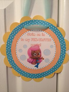 Bubble Guppies Door Sign Bubble Guppies Party Theme by Kbettega, $10.00