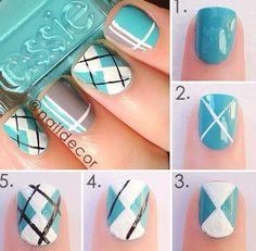 nail art: classic oxford