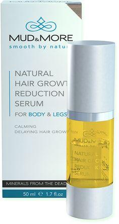 Mud En More Natural Hair Growth Reduction Serum For Body En Legs is een perfecte aargroeiremmer, met kalmerende en verzorgende werking. Een serum dat werkzaam is op twee niveaus: Onmiddellijk kalmerend effect op het onthaarde deel van het lichaam en remming van de overdracht van signalen naar de hersenen die aanzetten tot haargroei. Zorgt voor een gerichte bestrijding van de cellen die haarzakjes vormen, waardoor de ongewenste haargroei wordt vertraagd.