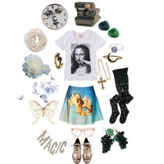Aquarius in the sunshine by janeth-davalos on Polyvore featuring art