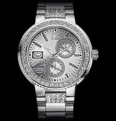 Marc Ecko-  my favorite everyday watch when I wear one. <3 <3 <3