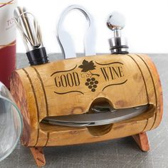 Wine lovers need more than just a bottle of their favorite wine to truly enjoy it. They need the right wine glasses as well as the correct tools for opening and preserving their fine wine.