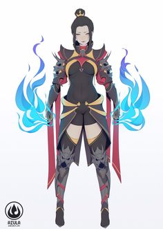 Fire Empress Azula by Sefiliana on DeviantArt Avatar Azula, Avatar Ang, Avatar Fan Art, Avatar Legend Of Aang, Legend Of Korra, The Last Airbender Characters, Avatar Characters, Avatar The Last Airbender Art, Fantasy Characters