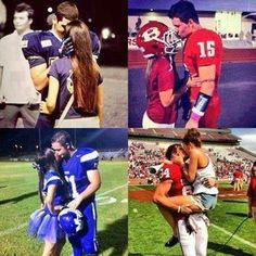 High school couples on Pinterest | Football Players, High ...