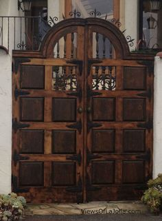old world doors - Google Search