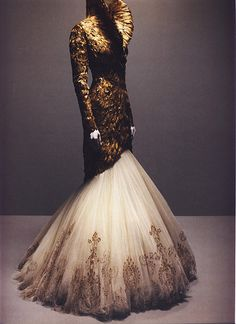 Alexander Mcqueen Couture Dress