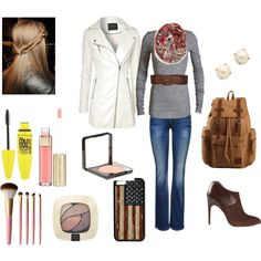 """American winter schools"" by mercedesandhoss on Polyvore"