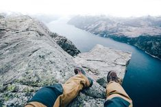 Preikestolen is a steep cliff which rises 604 metres above the Lysefjorden. Hiking to Preikestolen is one of the best destinations in Norway. Hiking Norway, Rocky Hill, Bus Tickets, Stavanger, Amazing Destinations, Public Transport, Trekking, The Good Place