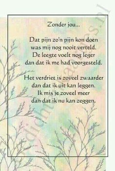 Sometimes life hurts so much. Missing Quotes, Love Quotes, Inspirational Quotes, Tears In Heaven, Angels In Heaven, I Miss My Dad, Dutch Words, Life Hurts, Grieving Quotes