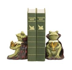 Sterling Home Pair of Frog Prince Bookends 612Inch Tall *** Check out the image by visiting the link.