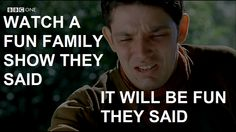 too true. Not sure the heartbreaking finale quite fits with the happy ending you expect from a family show