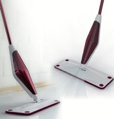 Stick Goods Spray Mop - Home cleaning tool, design by Gianluca Zin for Jehonn (2011)