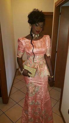 Mali fashion West African Fashion bazin brodé wax #Malifashion #bazin…