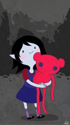 When Marceline first gets hambo Adventure Time Cartoon, Adventure Time Marceline, Adventure Time Finn, Princess Adventure, Wallpaper Iphone Cute, Cartoon Wallpaper, Cute Wallpapers, Cartoon Icons, Cute Cartoon