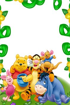 Winnie_the_Pooh_and_Friends_Kids_Transparent_Frame.png (1074×1600)