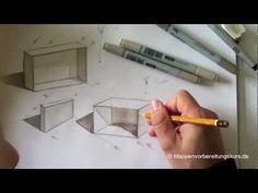 Zeichnen lernen, Skizze - Schattierung und Tiefe -  Akadmie Ruhr, Tutorials