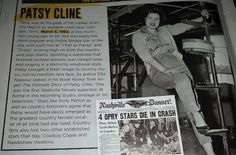 Patsy Cline CW article
