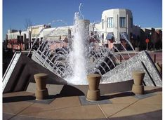 Gulley Metal Services is a custom metal fabrication shop that can help you with whatever metal needs are, whether you need a single piece or large production job. Modern Fountain, Custom Metal Fabrication, Stainless Steel, Building, Denver, Outdoors, Travel, Google, Outdoor