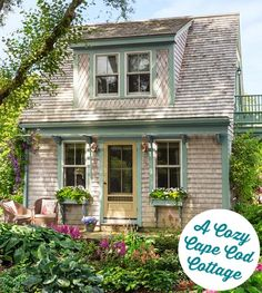 Cape Cod Guest Cottage featured in This Old House