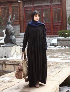 MMD LANG LAGENLOOK MEGA BAGGY LEINEN BALLON MAXI KLEID Long Tunika Kaftan Abaya in Kleidung & Accessoires, Damenmode, Kleider | eBay