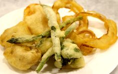 Vegetable Tempura - Gluten-Free! Lactose-Free! Dairy-Free!  |  The SUBSTITUTE Teacher: Traditional Cooking, Allergy-Friendly