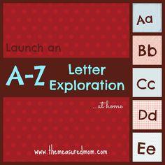 How to teach the alphabet to preschoolers