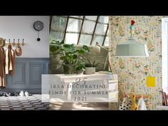 IKEA Decorating Finds Summer 2021 - YouTube Homemaking, Ikea, Gallery Wall, Table Decorations, Summer, Decorating, Furniture, Youtube, Home Decor