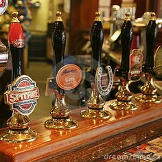 Inside view of a English pub by Anizza, via Dreamstime